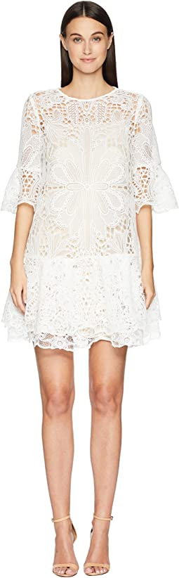 Lace Short Dress