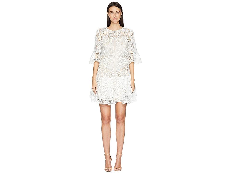 ML Monique Lhuillier - ML Monique Lhuillier Lace Short Dress