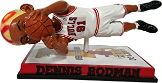 Forever Collectibles Dennis Rodman Chicago Bulls Diving Bobblehead - Numbered to Only 216