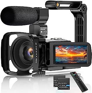 "Videocamera 2.7K Camcorder UHD 36MP Vlogcamera voor YouTube IR Nachtzicht 3.0 ""LCD-touchscreen 16x digitale zoom Camerarec..."