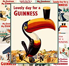 Pixiluv Mini Posters Set [13 Posters 8x11] Vintage Guiness Beer Ads # Posters Reprint