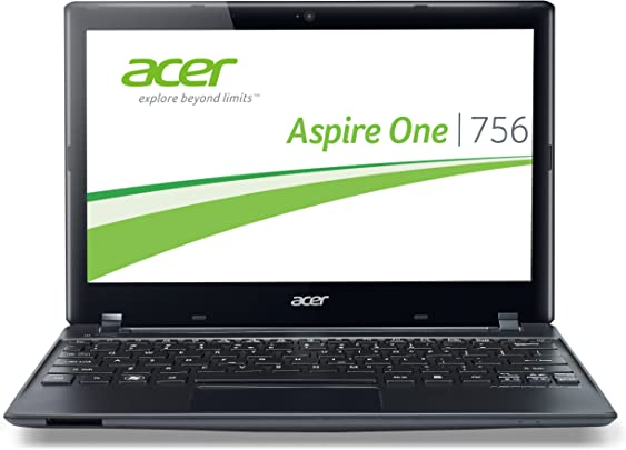 Acer Aspire One 756 29 5 cm  11 6 Zoll  Netbook  Intel Celeron 847  1 1GHz  4GB RAM  320GB HDD  Intel HD  Win 8  schwarz