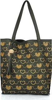 Mammon Women's Tote Handbag (35X35 CM) (Tote-hrt-green)