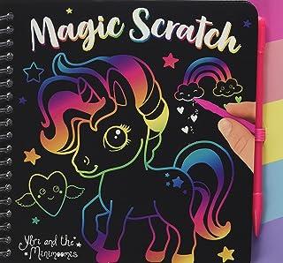 Depesche 10710 Magic Scratch Book, Ylvi y los Minimoomis - Libro para Colorear