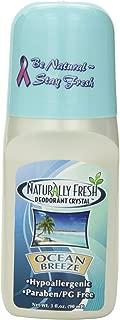 Naturally Fresh Deodorant, Roll On, Ocean Breeze, 3-Ounce Bottles (Pack of 6)