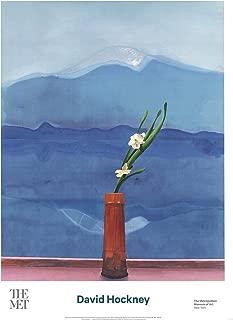 David HOCKNEY Mount Fuji and Flowers 34