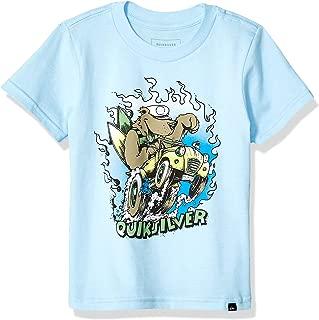 Quiksilver Boys AQKZT03480 Way of Caporal Tee Short Sleeve Shirt - Blue - 7
