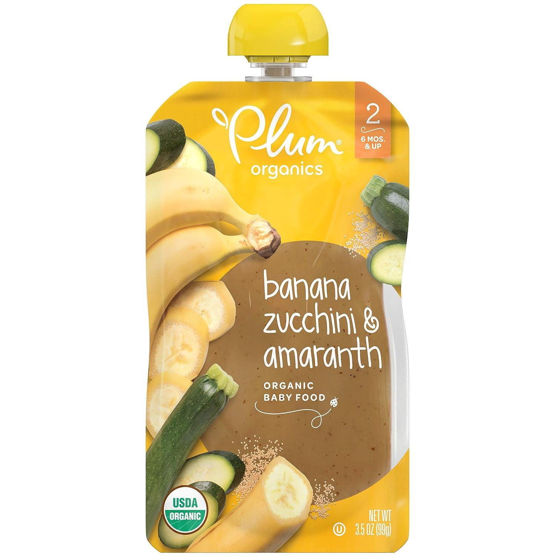 Plum Super Special SALE held Organics Stage 2 Organic Banana Baby Amar Zucchini Price reduction Food