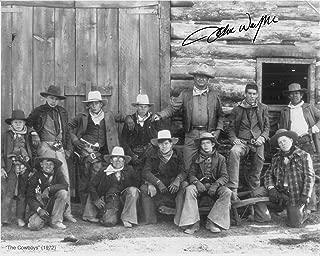 John Wayne The Cowboys Autographed Photo Copy JW-013
