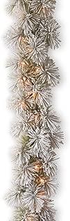 Best flocked christmas tree garland Reviews