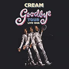 CREAM Goodbye Tour Live At The Forum 1968 Limited Edition Blue 2LP Set from Universal Music