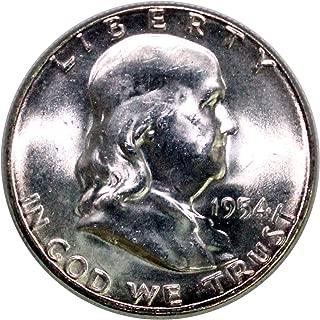 1954 S Franklin Half Dollar 50¢ BU