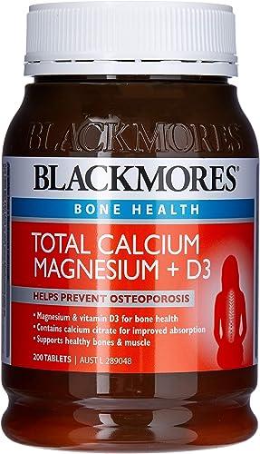 Blackmores Total Calcium + Magnesium + D3 (200 Tablets)