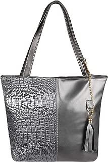Women Animal Faux Leather Designer Shopper Bag Hobo Shoulder Tote Handbag Purse