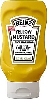Heinz Yellow Mustard (8 oz Bottles, Pack of 12)