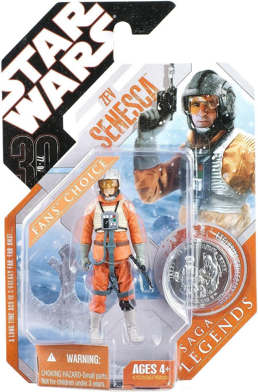 Snowspeederpilot Zev Senesca - Star Wars 30th Anniversary Saga Legends Collection 2008 von Hasbro
