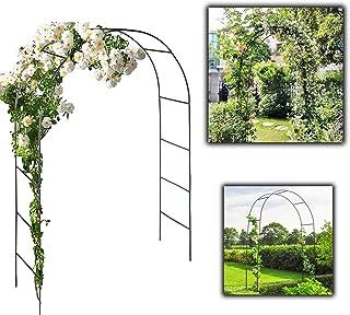 decorazione per esterni patio Arco da giardino per giardino resistente con struttura in metallo per giardino
