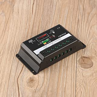 30A 12V / 24V Pantalla LED profesional PWM Panel solar Regulador de batería Controlador de carga