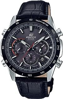 CASIO EDIFICE EQW-T650BL-1AJF[Radio Wave Solar Watch MID Size Bezel IP Metal Chronograph Black Calf Band]