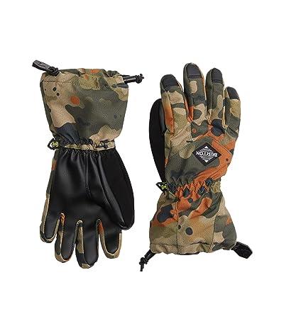 Burton Kids Profile Gloves (Little Kids/Big Kids) (Kelp Birch Camo) Snowboard Gloves