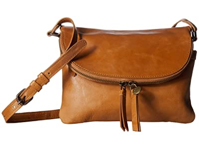 Lucky Brand Yucca Small Crossbody (Walnut) Cross Body Handbags
