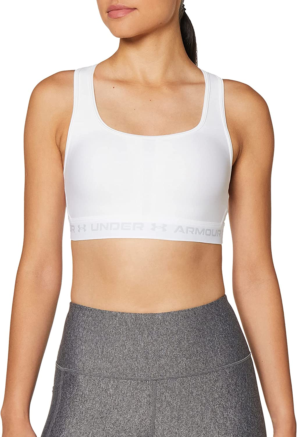 Under Armour Elegant Women's Mid Crossback Bra Selling and selling