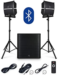 PRORECK Club 4000 18-inch 4000W P.M.P.O Stereo DJ/Powered PA Speaker System Combo Set..