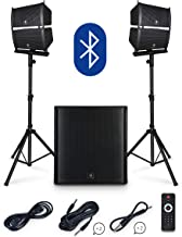 $529 » Sponsored Ad - PRORECK Club 4000 18-inch 4000W P.M.P.O Stereo DJ/Powered PA Speaker System Combo Set Line Array Speaker an...