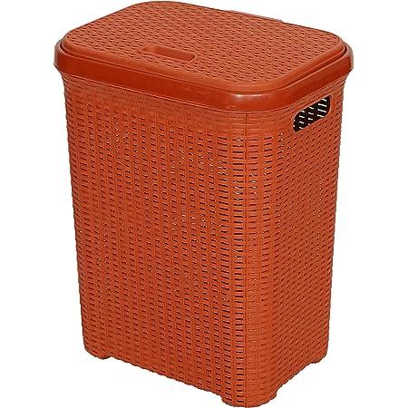 Esquire Laundry Basket, Brick Red Colour, 50L
