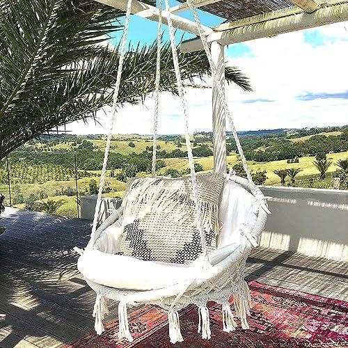 Admirable Hanging Chairs For Bedrooms Amazon Com Inzonedesignstudio Interior Chair Design Inzonedesignstudiocom
