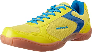 Nivia Aster Badminton Flash Shoes, Men's