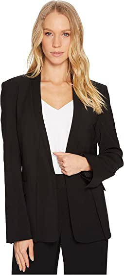 Long Sleeve Jacket w/ Notch Detail