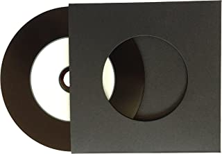 Bassholic Vinyl CD-R and Black Sleeves 50pcs