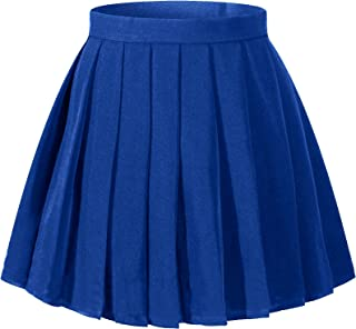 blue and orange cheer skirt