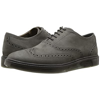 Hush Puppies Shiba Brogue Oxford (Dark Grey Nubuck) Men