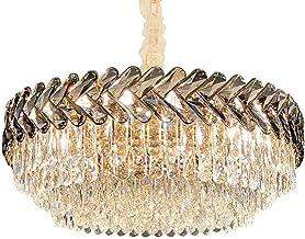 Moderne Luxe Kristallen Kroonluchter 8 Lichts E14 Creativiteit Hangende Verlichting Voor Woonkamer Hal Plafondlamp Hangend...