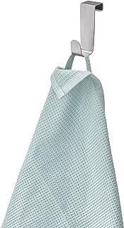 InterDesign Forma porte-torchon sans perçage, petit crochet de porte en acier inoxydable, argenté
