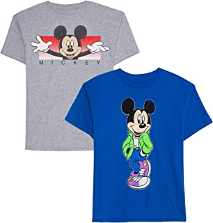 Boys' Big 2 Pack of Mickey Graphic T-Shirts