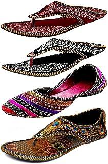 425d692eeac4e Amazon.in: Synthetic - Ethnic Footwear / Women's Shoes: Shoes & Handbags