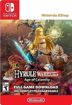 Hyrule Warriors Age Of Calamity Standard Switch Digital Code Amazon Ca Generic