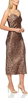 French Connection Women's Animal Print Slip Dress