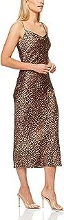 French Connection Women's Animal Print Slip Dress