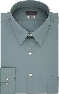 Men's Dress Shirt Regular Fit Poplin Solid