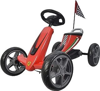 Best Ride On Cars Ferrari Go Kart,红色,35.56 厘米 x 64.77 厘米 x 25.4 厘米