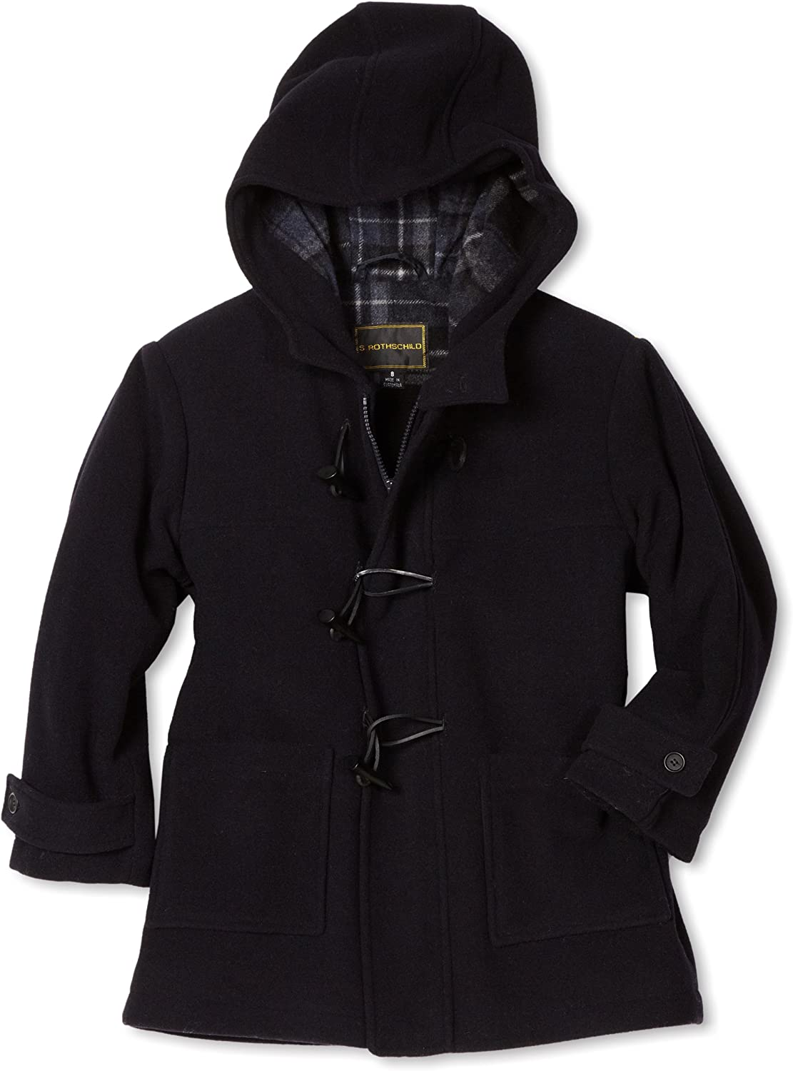 Rothschild Big Boys' Wool Coat Duffle Sales of SALE items from new works trend rank