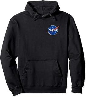 NASA Logo Felpa con Cappuccio