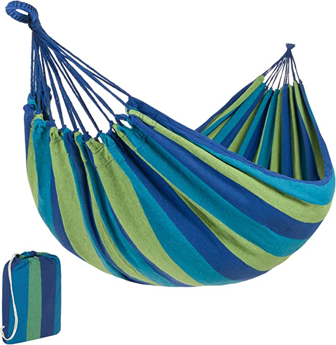 Best Choice Products Brazilian-Style Cotton Double Hammock - The Best Performance