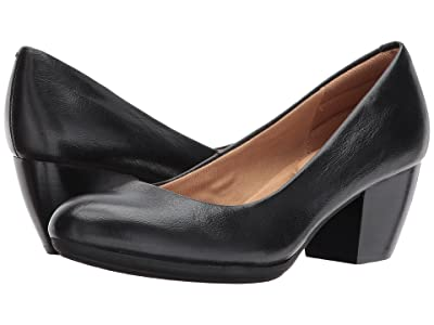 Comfortiva Amora (Black River Leather) High Heels