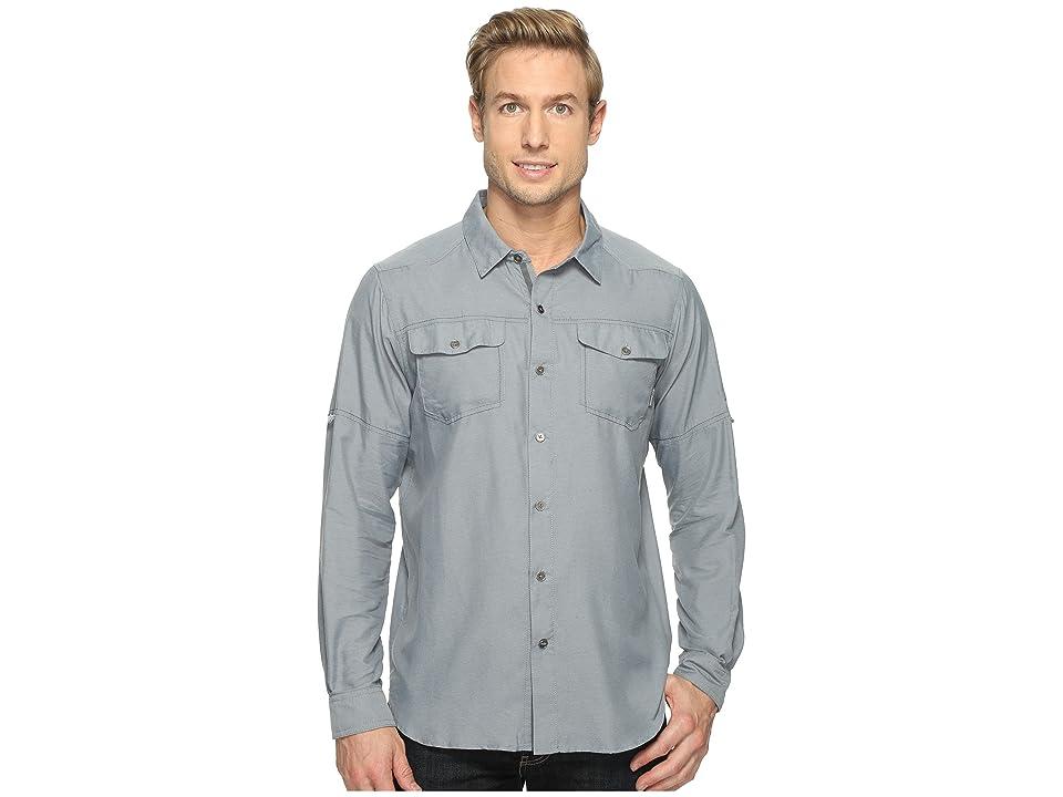 Columbia Pilsner Peak II Long Sleeve Shirt (Grey Ash) Men