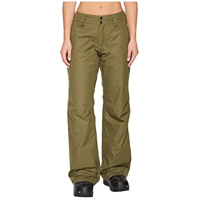 The North Face Sally Pants (Burnt Olive Green) Women